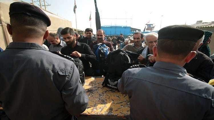 اعتقال 41 إيرانيا تسللوا إلى العراق