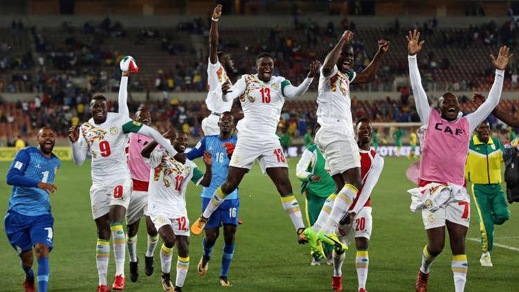 السنغال تحجز مقعدها في مونديال روسيا 2018