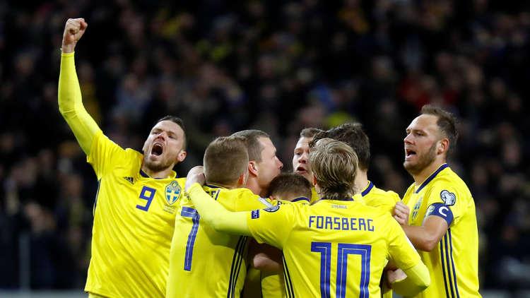 تصفيات المونديال.. السويد تهزم إيطاليا وتضعها بموقف حرج