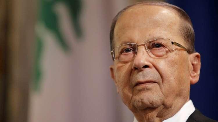 مسؤول لبناني: عون أخبر السفراء الأجانب أن الحريري