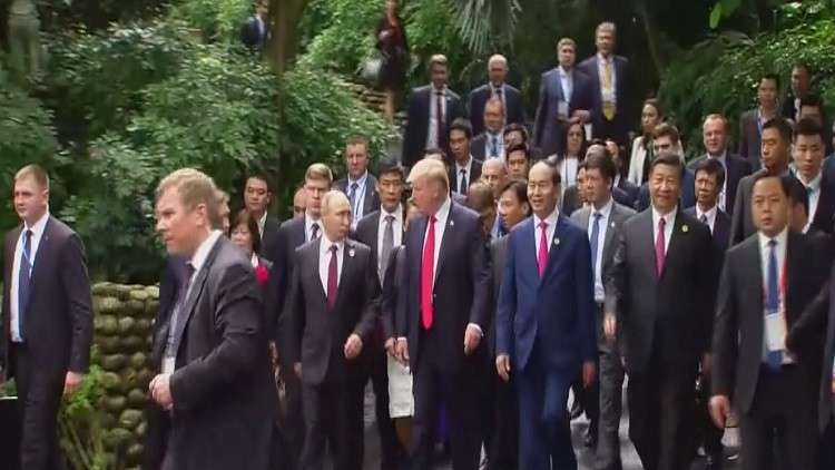 بوتين وترامب يشددان على وحدة سوريا