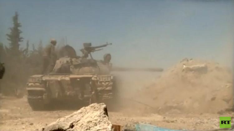 الجيش السوري يصد هجوم