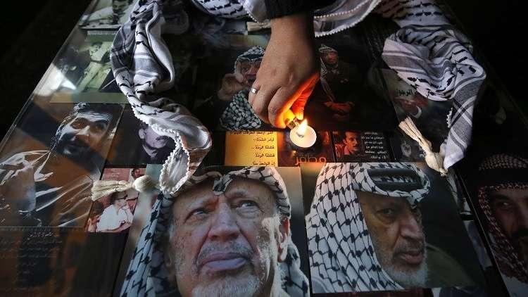 الذكرى الـ13 لرحيل الزعيم الفلسطيني ياسر عرفات