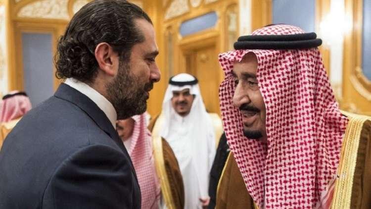 بالفيديو.. الحريري يستقبل الملك سلمان