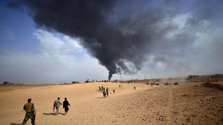 العراق.. القضاء على 13 مسلحا داخل نفق قرب تكريت (صور)