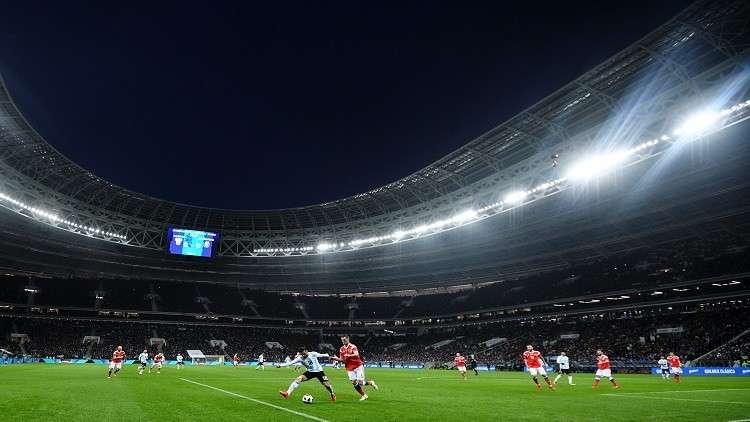 """مباراة الأرجنتين تحطم الرقم القياسي على ملعب """"لوجنيكي"""""""