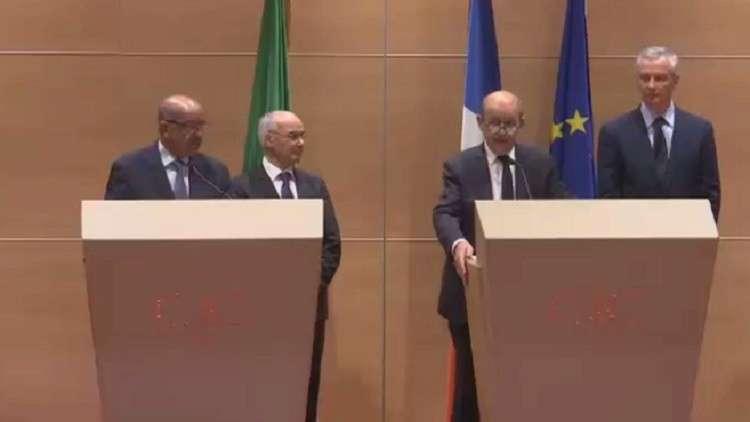 ثلاث اتفاقيات بين فرنسا و الجزائر