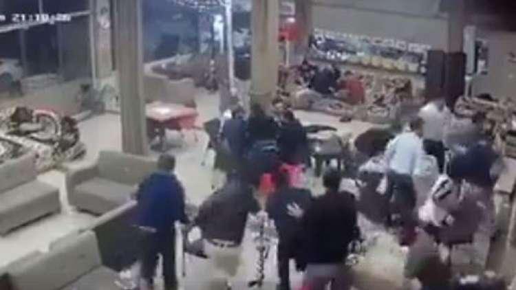 هروب جماعي من أحد مقاهي السليمانية بفعل الزلزال
