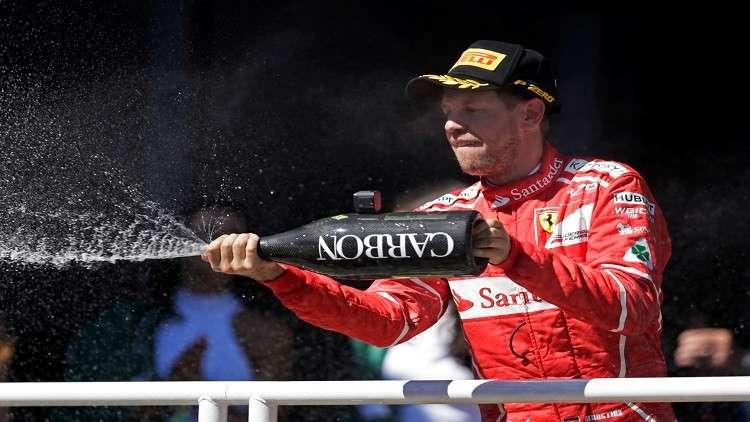فيتل يتوّج بجائزة البرازيل الكبرى للفورمولا1