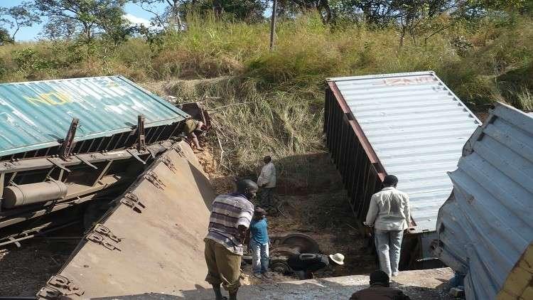 مصرع 34 شخصا بحادث قطار في الكونغو الديمقراطية