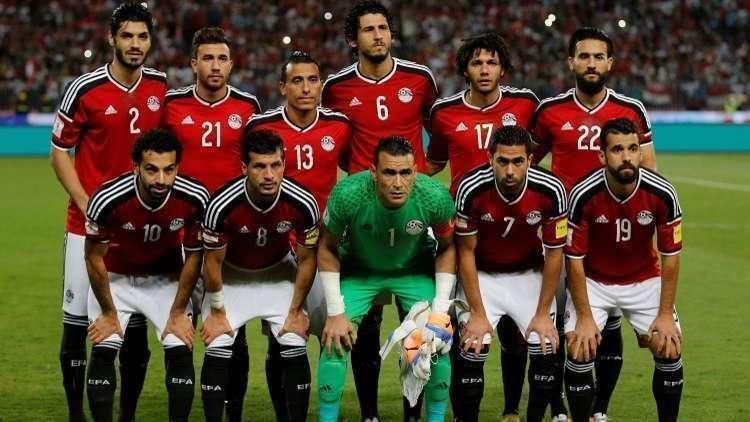 المنتخب المصري يستبدل الأحمر بالأبيض!