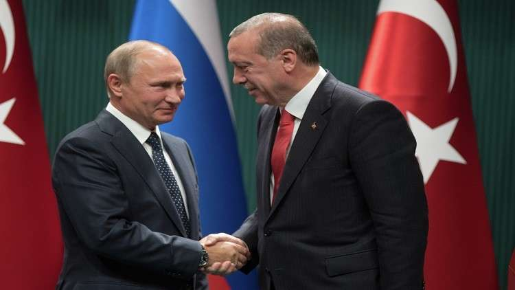 أردوغان إلى سوتشي اليوم للقاء بوتين
