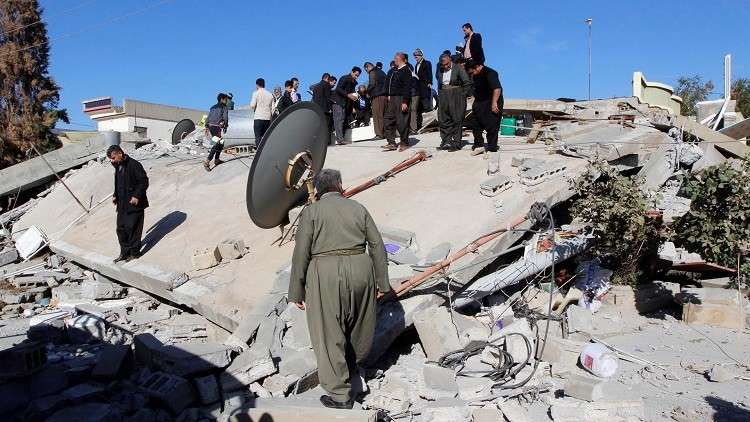الرصد الزلزالي العراقي: 100 هزة ارتدادية ضربت البلاد