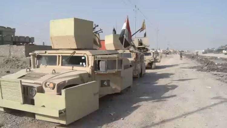 القوات العراقية تقترب من استعادة راوة