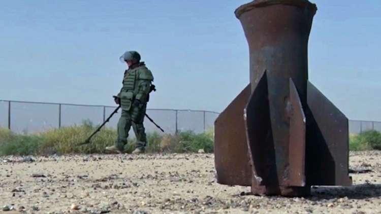خبراء روس يدمرون 378 مادة متفجرة في دير الزور