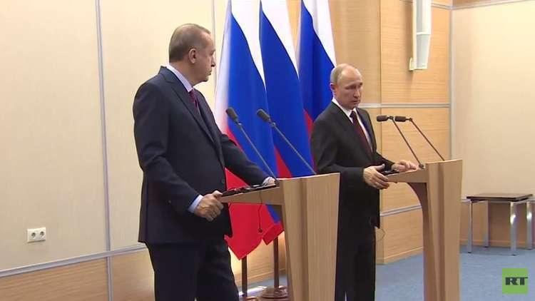 بوتين: لا نزال نجني ثمار تعاوننا مع تركيا وإيران في إطار عملية أستانا
