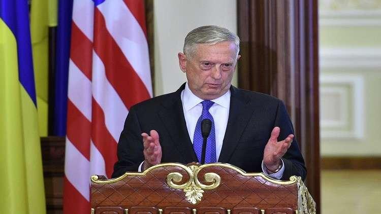 ماتيس: لن نسحب قواتنا من سوريا إلا بشروط