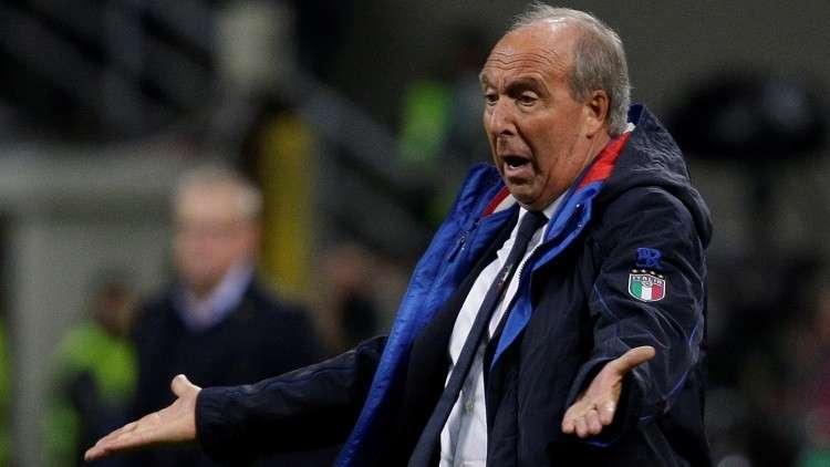 مدرب إيطاليا يشترط مبلغا ضخما لتقديم استقالته