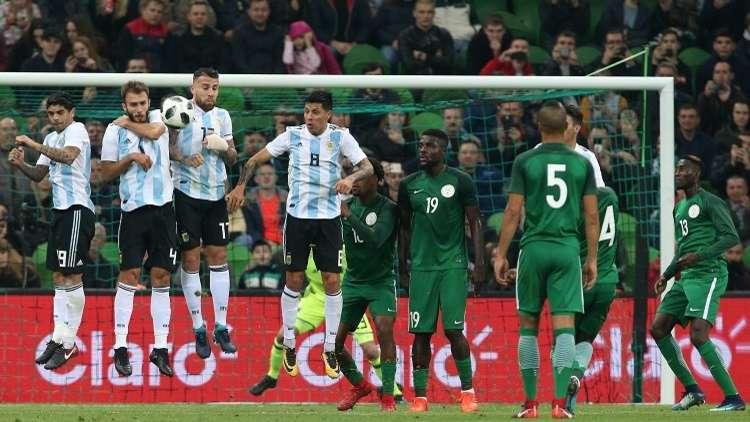 بالفيديو.. نيجيريا تقلب الطاولة على الأرجنتين