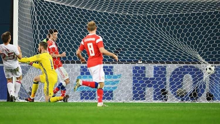 روسيا تتعادل مع إسبانيا في مباراة غزيرة بالأهداف.. (فيديو)