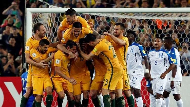 أستراليا تلحق بركب المتأهلين إلى مونديال روسيا