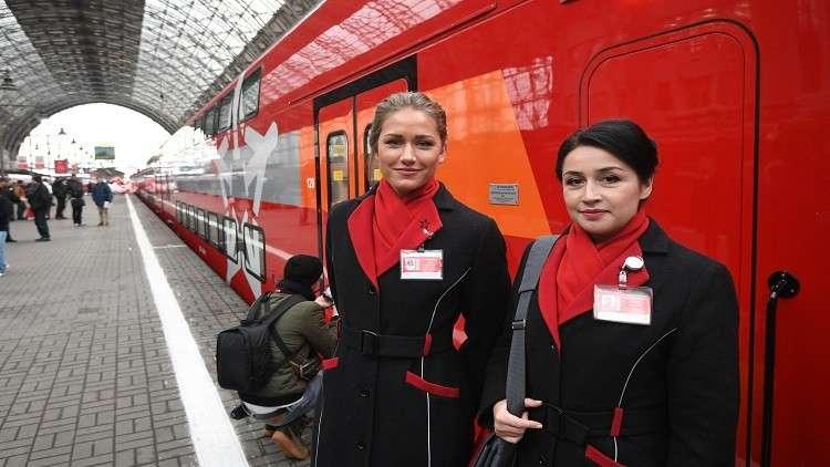 روسيا تطلق رحلات عبر خط قطارات جديد ملتف على أوكرانيا