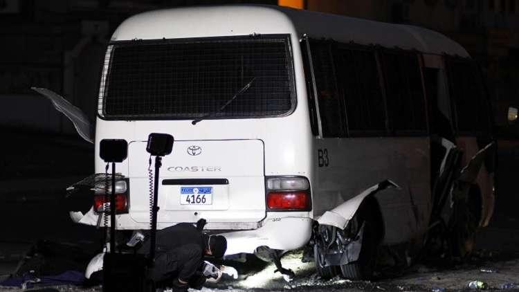 البحرين: القبض على أحد المتهمين بتنفيذ الهجوم على حافلة الشرطة