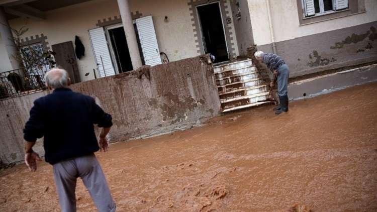 اليونان.. مصرع 15 شخصا بسبب فيضانات
