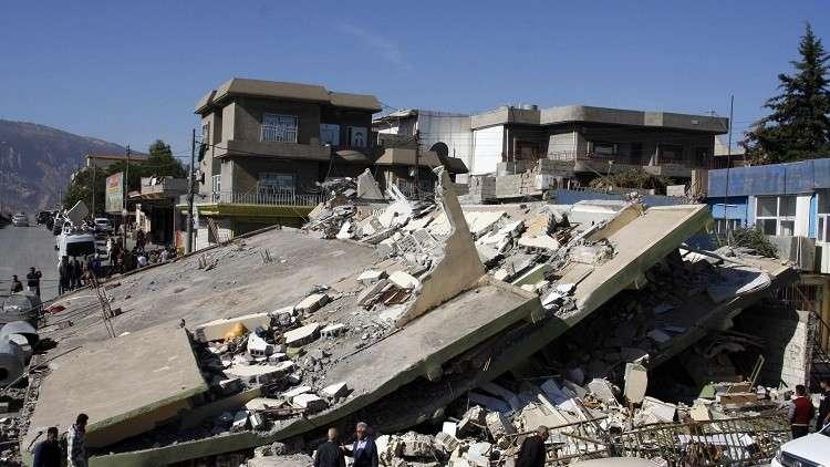 زلزال بقوة 5.4 درجات ضرب حدود إيران مع أذربيجان