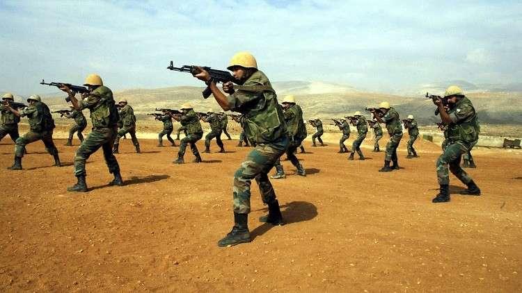 خبراء روس يدربون وحدات اقتحام سورية