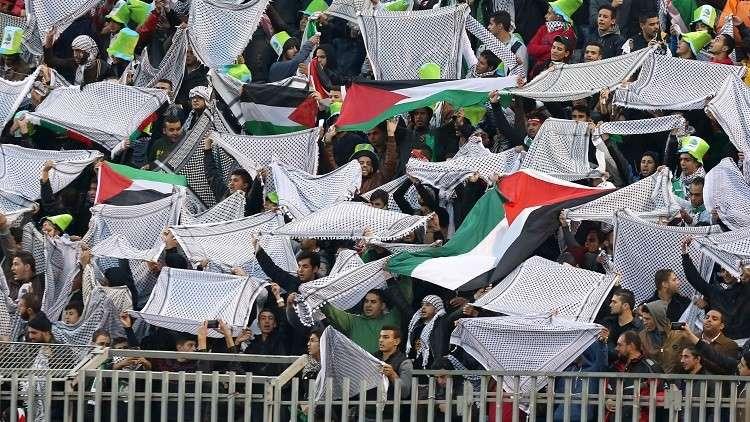 الفدائي الفلسطيني يتقدم على المنتخب الإسرائيلي