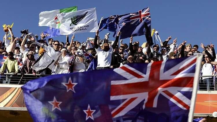 مشجع نيوزيلندي يشكر الشعب الروسي على حسن الضيافة