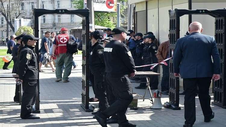 أوكرانيا.. إصابة قائد الشرطة في أوديسا خلال احتجاجات