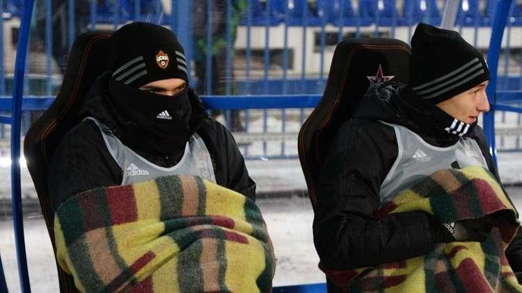 شاهد.. وسط البرد القارس تسيسكا موسكو يهزم سكا