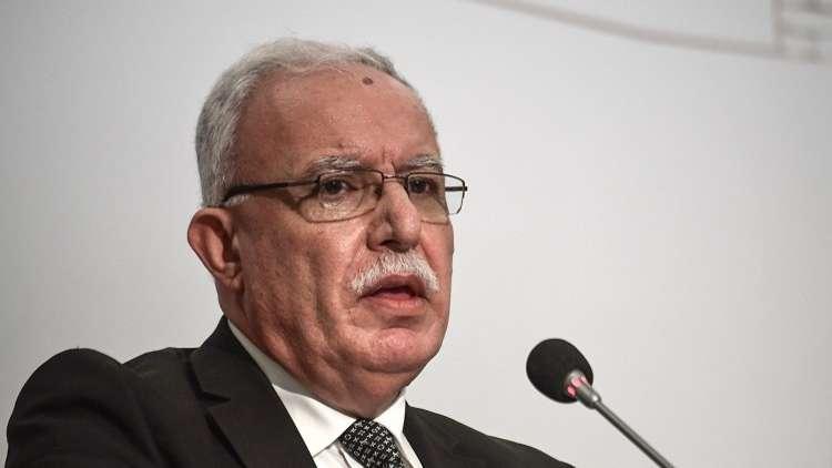 وزير الخارجية الفلسطيني: لن نقبل بأي ابتزاز أو ضغوط أمريكية