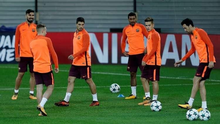 تشكيلة برشلونة ومضيفه ليغانيس