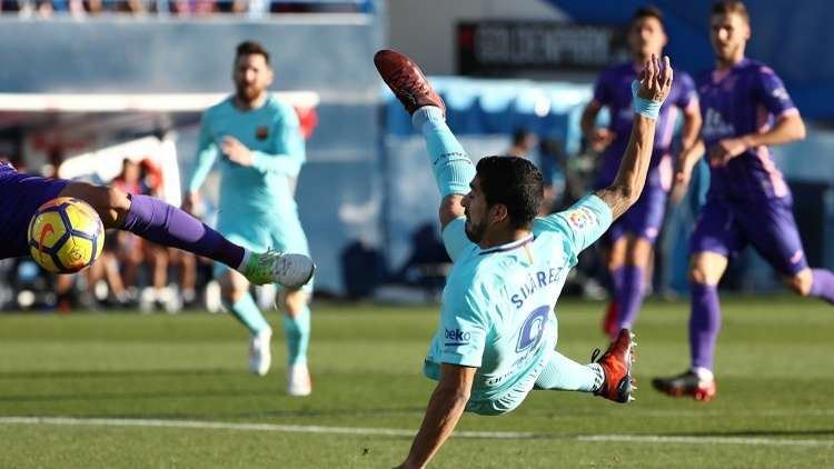 فيديو.. برشلونة يفوز بفضل