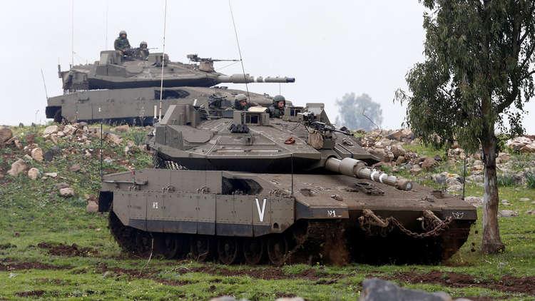 إسرائيل تقصف موقعا للجيش السوري في الجولان