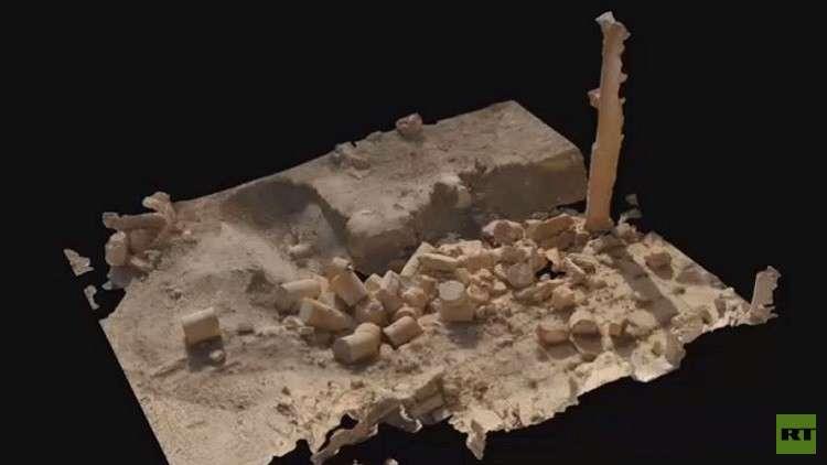 نموذج ثلاثي الأبعاد لتدمر.. هدية روسية لسوريا