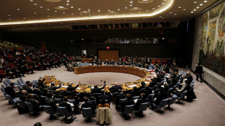 مشروع قرار جديد حول سوريا في مجلس الأمن