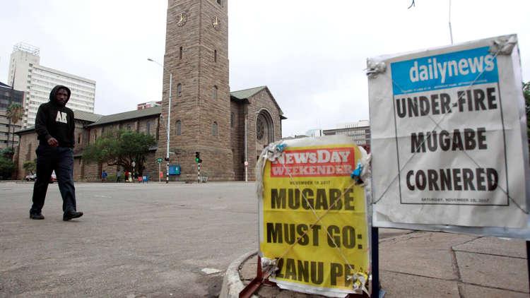 زيمبابوي... الحزب الحاكم يتحرك لعزل موغابي
