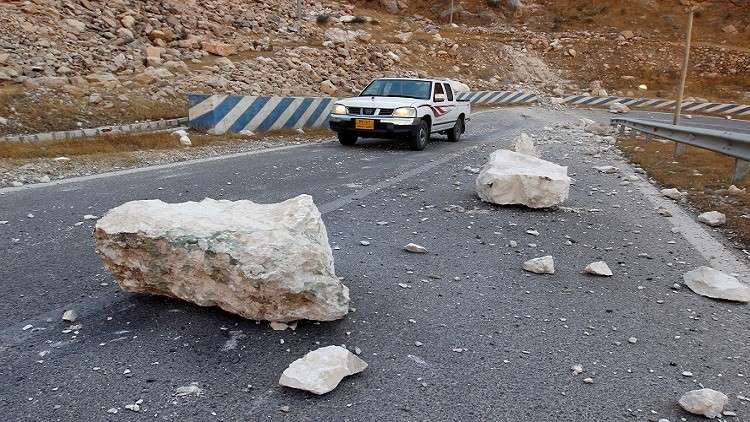 بالفيديو.. زلزال جديد يهز منطقة حدودية بين إيران والعراق