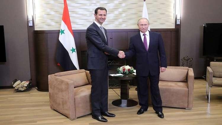 الكرملين: دور الأسد في مستقبل سوريا يخص السوريين فقط