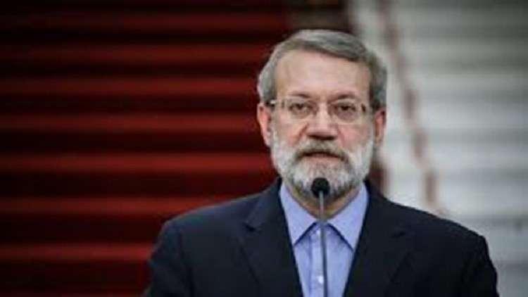 لاريجاني: الإرهابيون يلفظون أنفاسهم الأخيرة في سوريا والعراق
