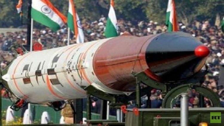 الهند تطلق أول صاروخ فضائي من إنتاج محلي