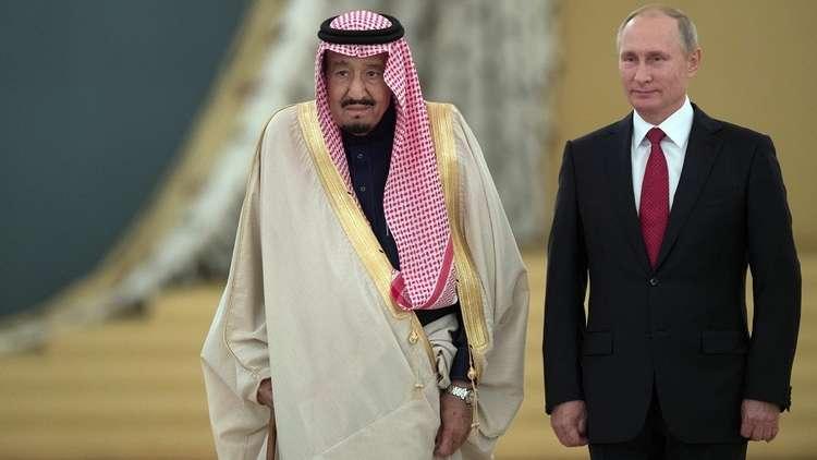 الكرملين: الرئيس بوتين يبحث مع الملك سلمان الأوضاع في سوريا