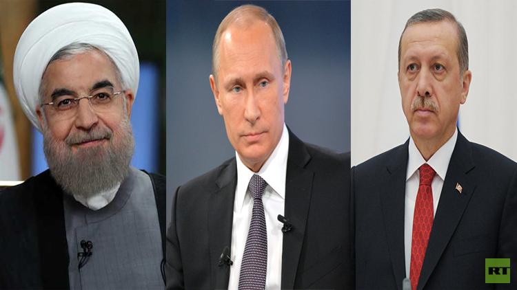 قمة روسية تركية إيرانية لبحث التسوية السورية في سوتشي