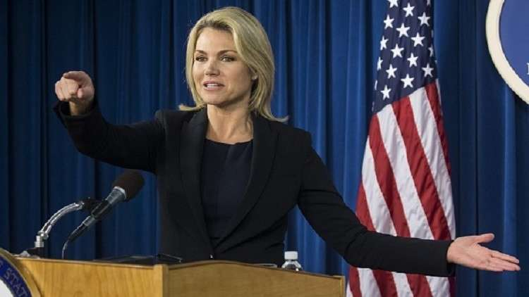 المتحدثة باسم الخارجية الأمريكية: علاقاتنا مع تركيا تشبه الحياة الزوجية!