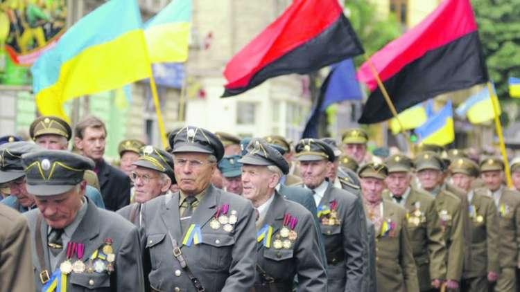 القوميون الاوكرانيين