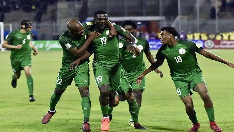 مكافأة ضخمة للمنتخب النيجيري بعد التأهل لمونديال روسيا